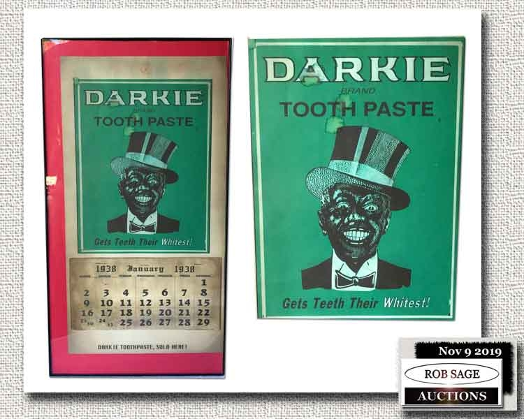 """""""Darkie"""" Toothpaste Calendar"""