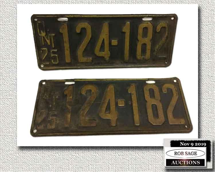Pr 1925 Plates