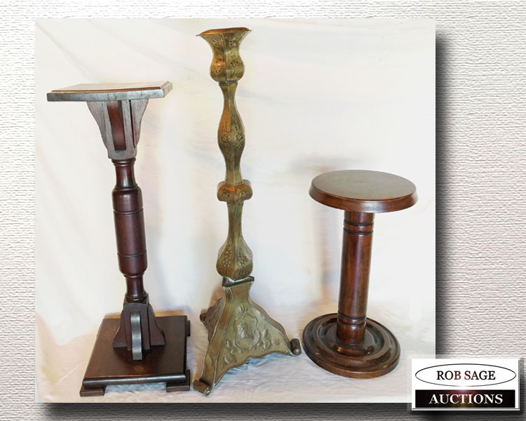 Pedestals & Candle Stand