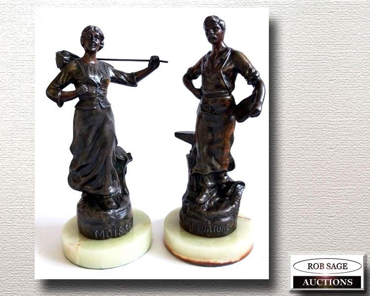 Spelter Figurals