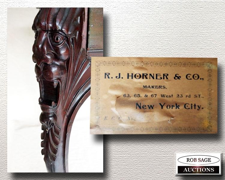 R J Horner detail