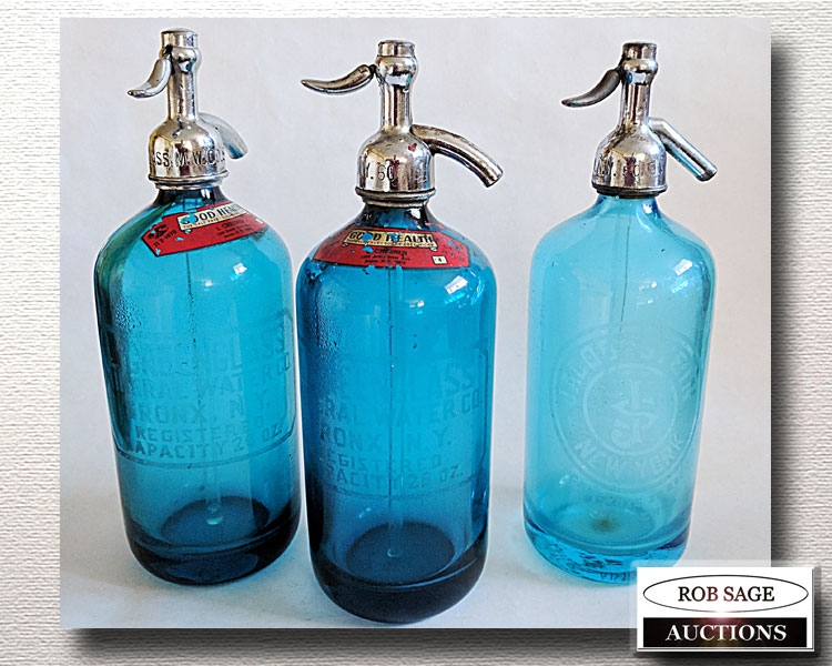 Blue Seltzers