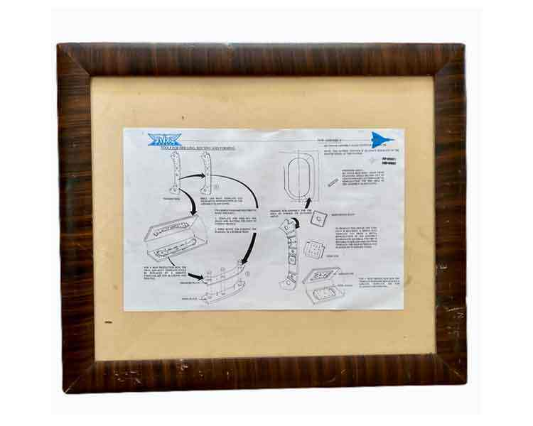 Avro Original Blue Print