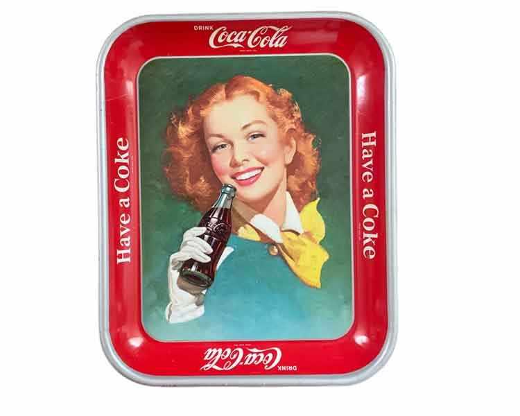 Vintage Coke Tray