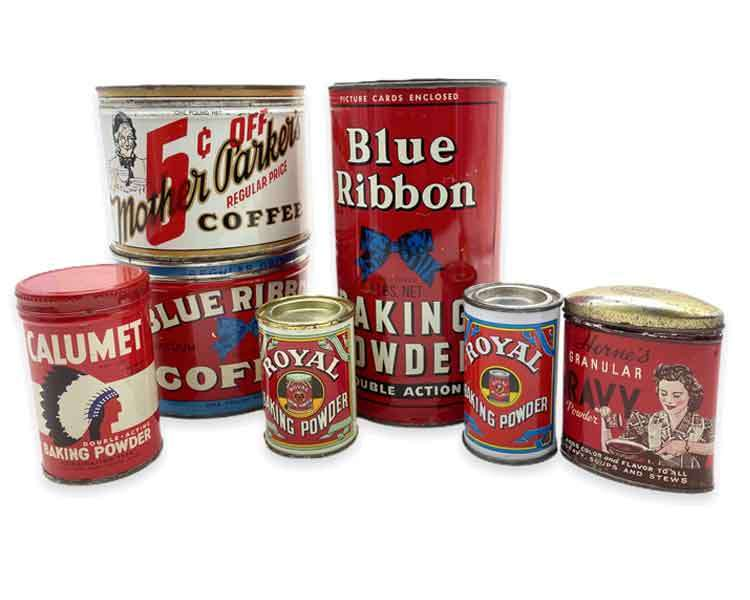 Coffee Tins Etc