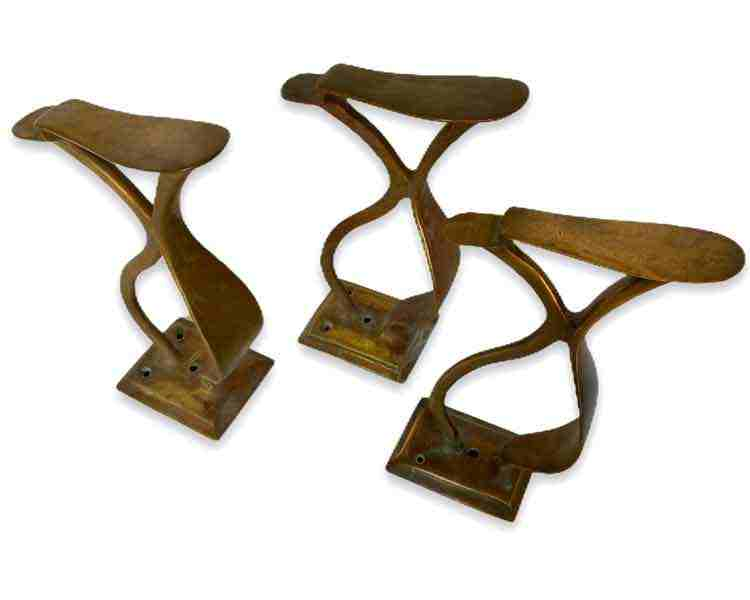 Brass Shoe Stands