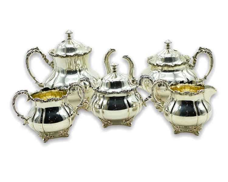 Quadruple Silver Plate