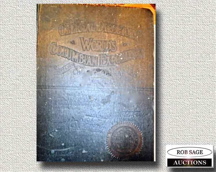 1892 Very Rare