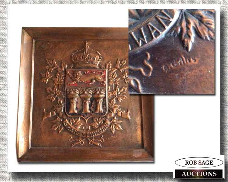 Copper School Plaque