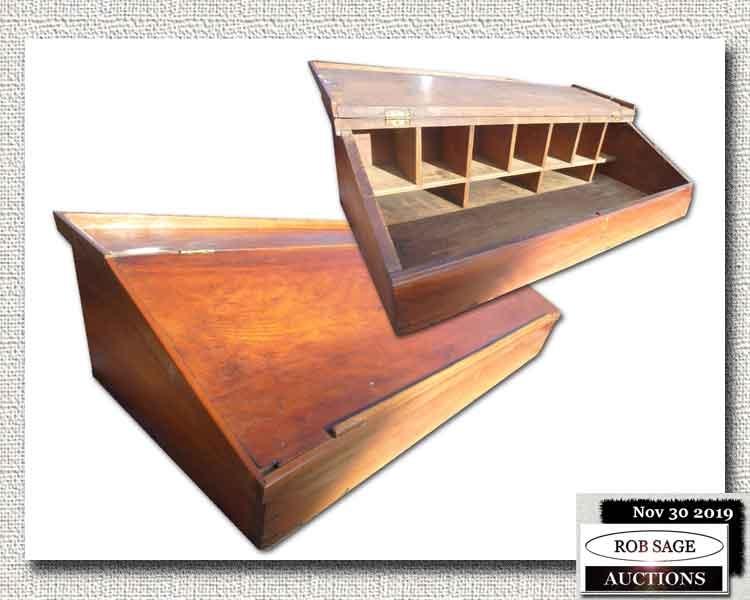 Pine Slant Top Desk