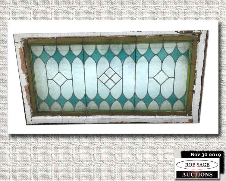 Stained & Leaded Window