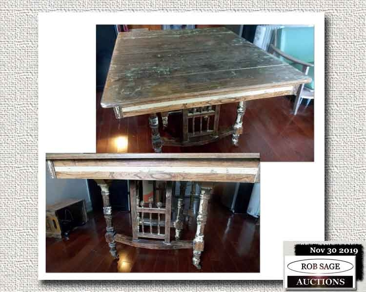 """Distressed Look"" Table"