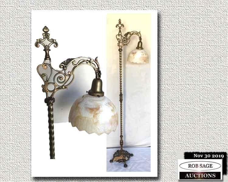 Arts & Crafts Bridge Lamp