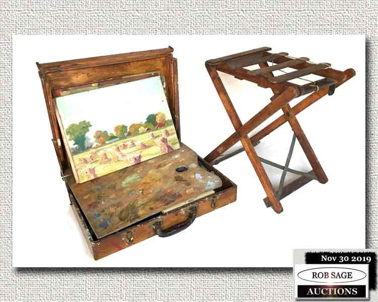 Painter's Stool & Box