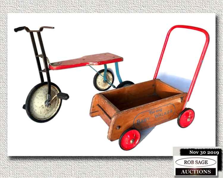 Tricycle & Baby Walker