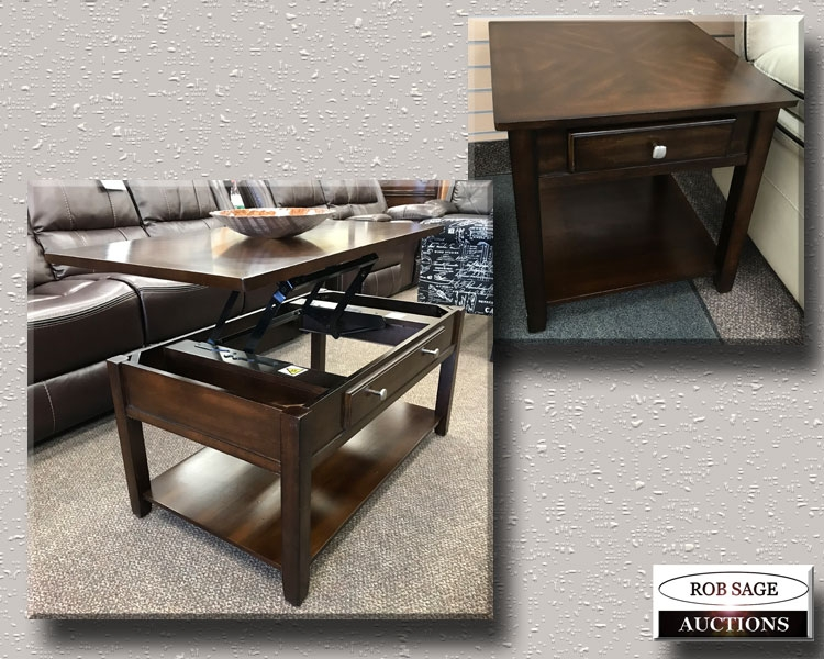 Lift Top With End Tables