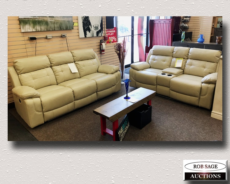 Reclining 3 Pce Sofa Set