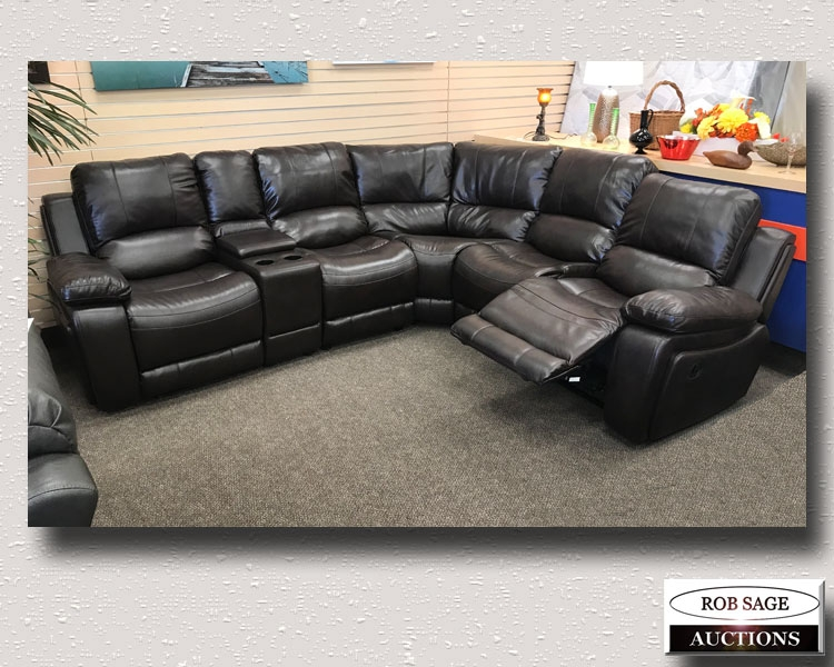 Reclining Power Sectional