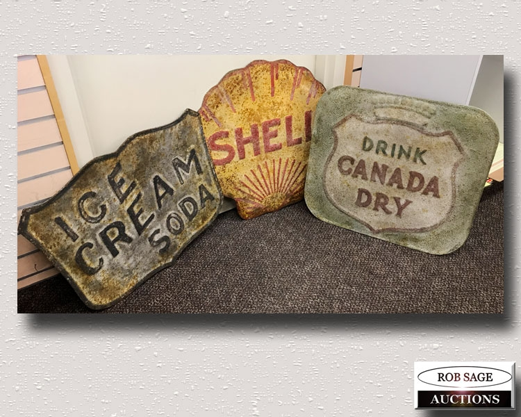 Tin Decor Signs