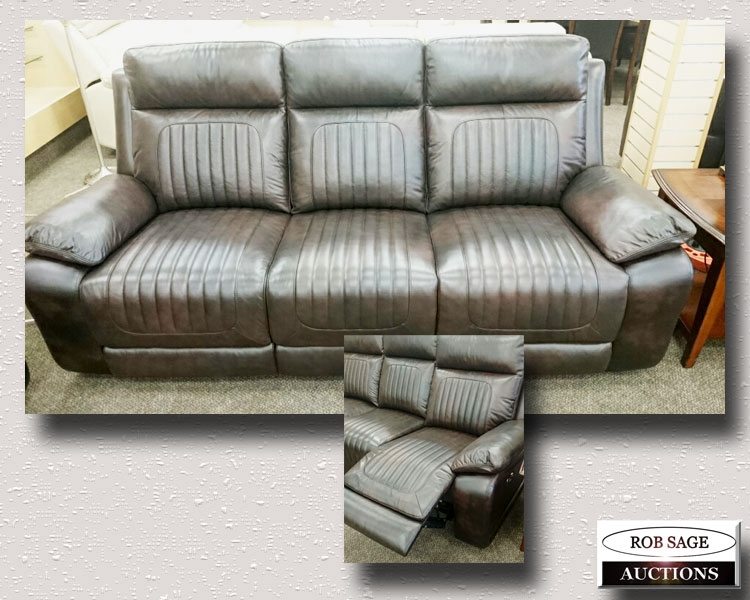 Leather Electric Sofa