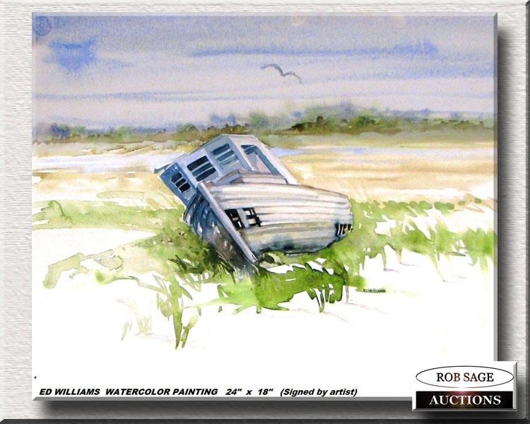 Ed Williams Watercolour