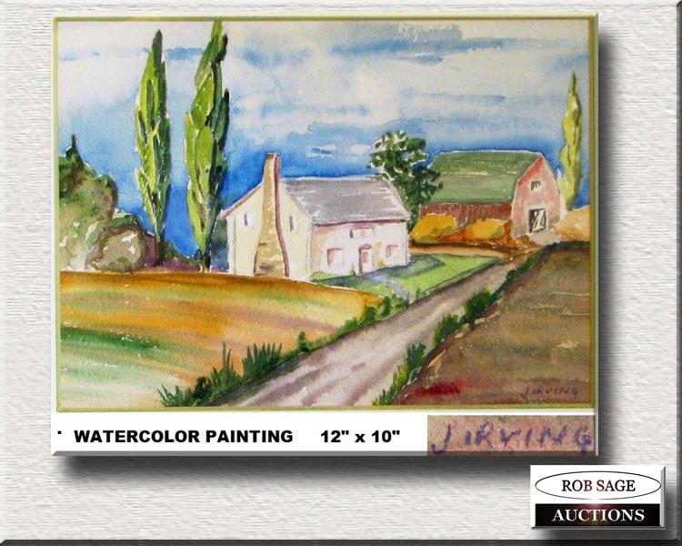 Watercolour J Irving