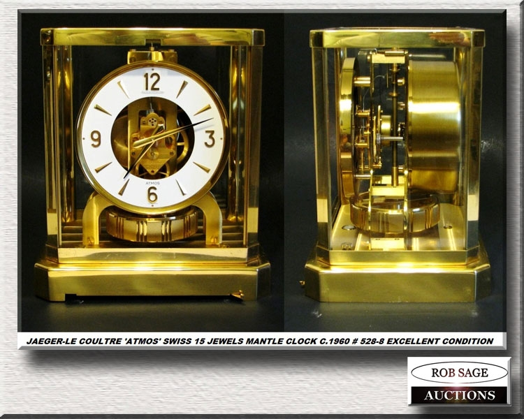15 Jewel Mantle Clock