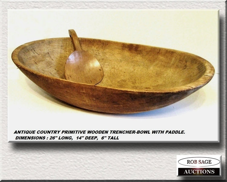 Large Wooden Bowl