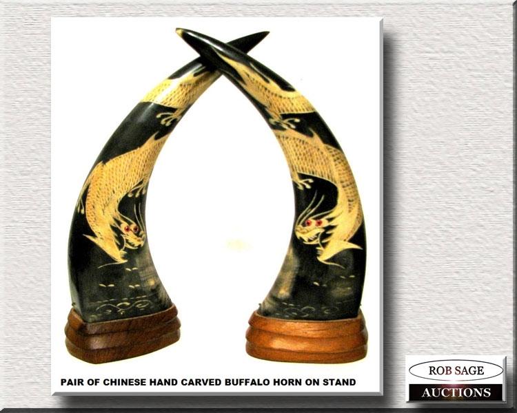Chines Buffalo Horns