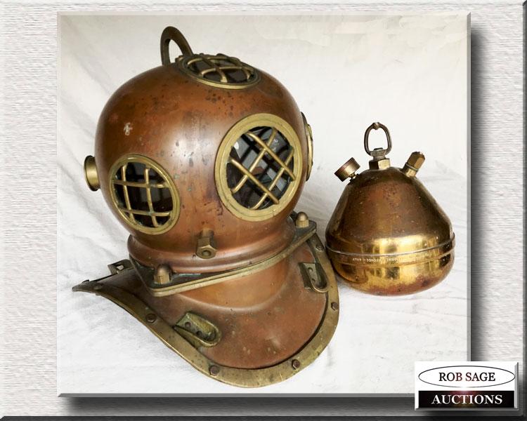 Copper & Brass Helmet