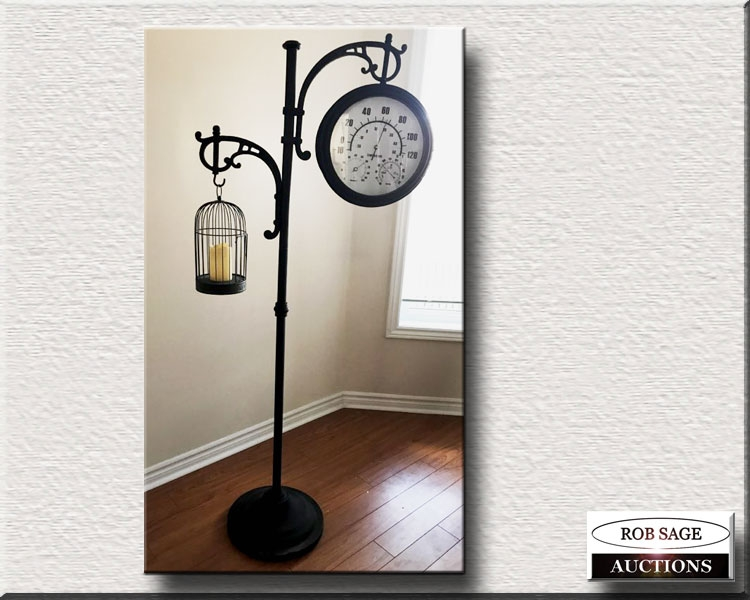 Clock/Candle Holder