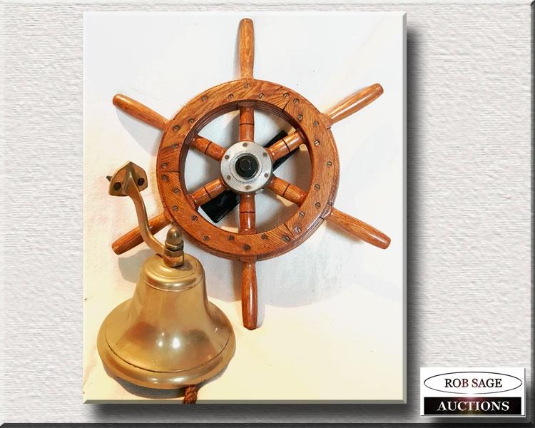 Ship's Wheel/Bell