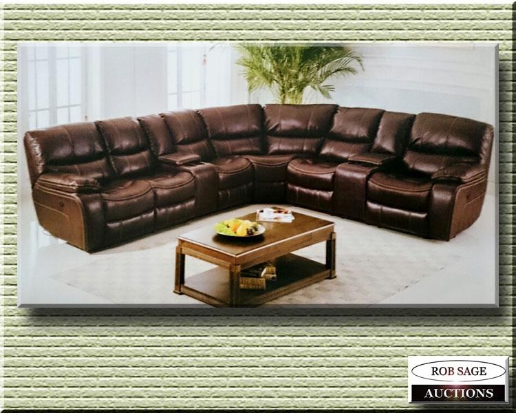 Sectional Reclining Sofa