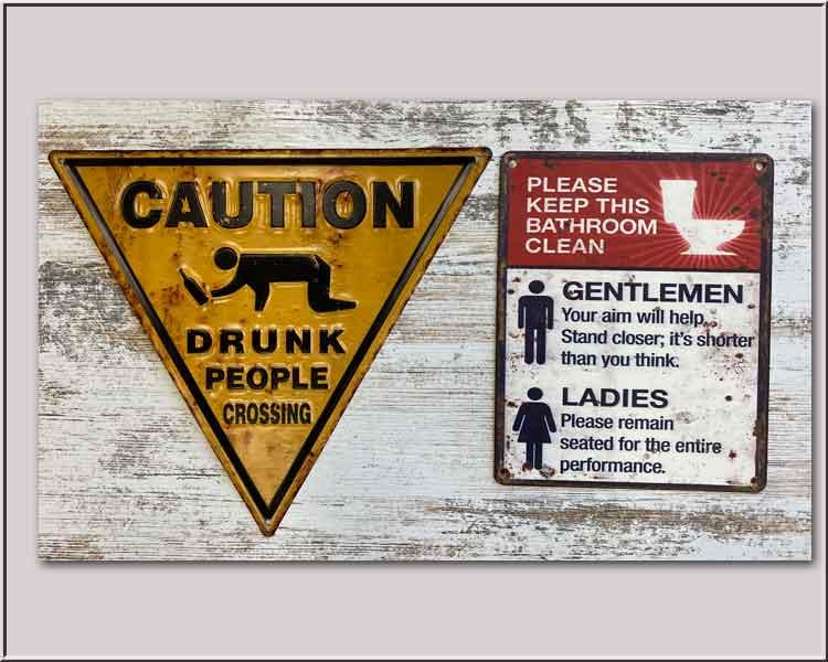 Tin Signs