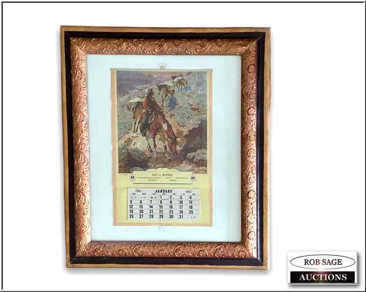1947 Creemore Calendar