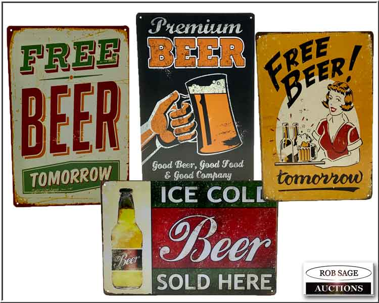 New Tin Signs