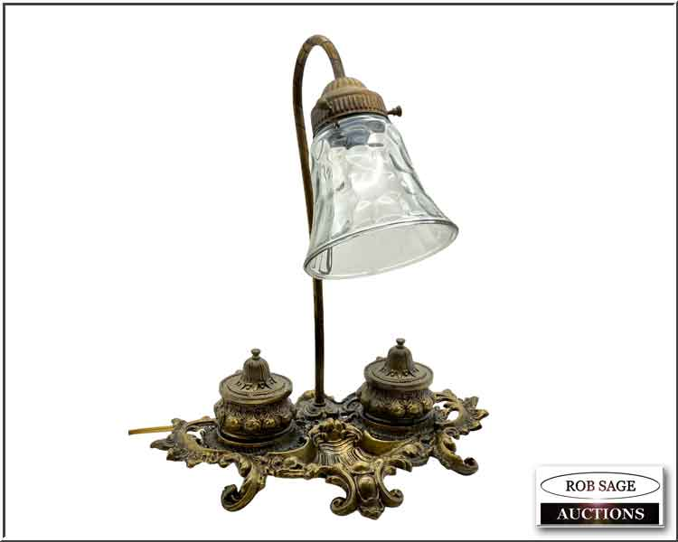 Lamp/Inkwell Stand