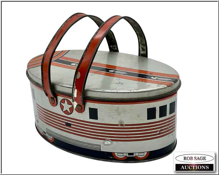 1930s Zephyr Lunchbox