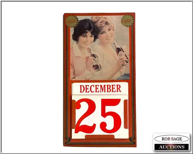 Collectable Coke Calendar