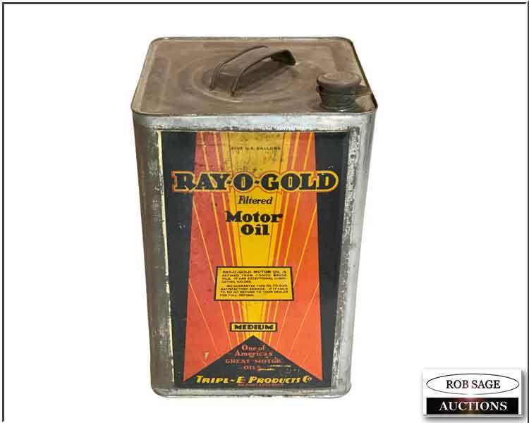 Ray O Gold Motor Oil
