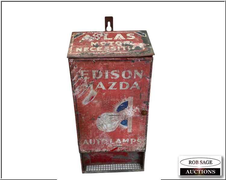Edison Mazda Cabinet
