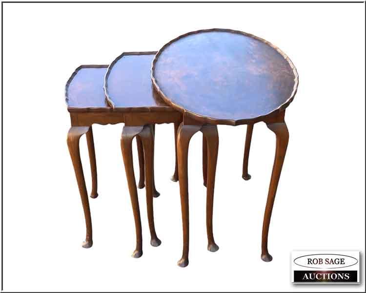 Walnut Nesting Tables