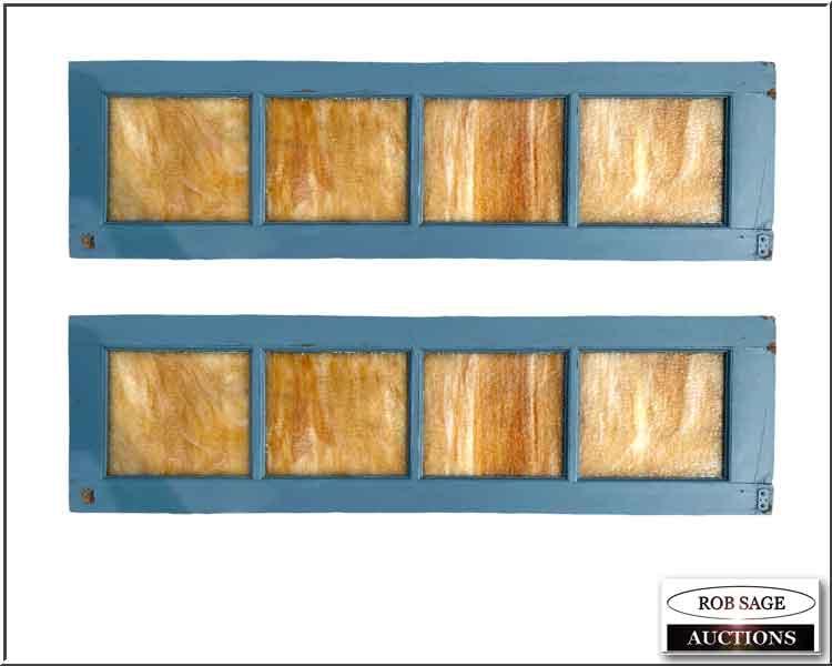 Slag Glass Windows